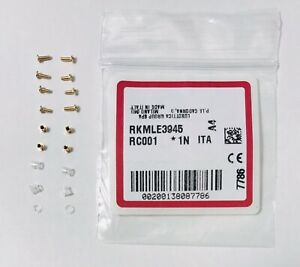 Ray Ban RB3584N Golden Screws Kit Replacement Genuine