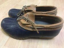 LL Bean Low Cut Bean Boots Made In USA Women's 7 M