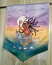 African Yoruba Goddess Yemaya Yemanja Orisha Banner or Flag Wall Decor #FLY