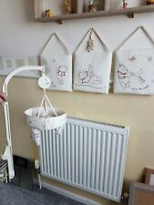 COT MOBILE DISNEY BABY + 3 MATCHING PADDED WALLHANGINGS USED CLEAN COND