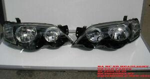 FITS FOR FORD FALCON BA BF Headlight FPV GT XR6 XR8 Headlights Typhoon new Pair