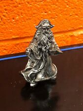 Pewter 4� Wizard Figure