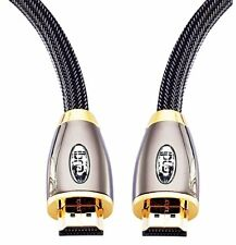 IBRA® 3 Feet High Speed Pro Gold Red HD V2.0/1.4a Hdmi Cable 3 D 2160p