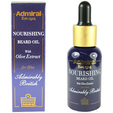Nourishing Beard Oil For Growth Admiral Moisturising Male Grooming Kit 30ml