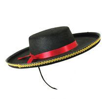 Sombrero Bandido Bull Fighter español Adulto Sofisticado Vestido Disfraz Utilería España