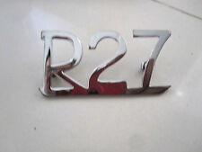 BMW /2 R27 motorcycle rear fender emblem  NEW