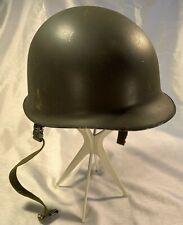 Austrian Heinrich Ulbricht Witwe Schwanenstadt M48 Stahlhelm Helmet With Liner