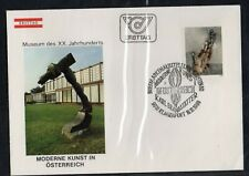 Austria 1980 First Day Cover Moon Figure Art Painting By Karl Brandstatter