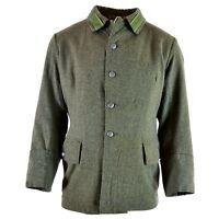 Genuine WWII vintage Swedish army wool uniform jacket M39 1940's military Grey
