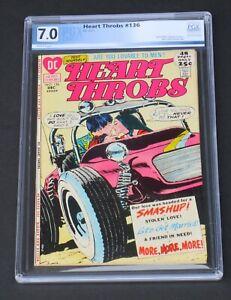 Heart Throbs #136 PGX 7.0 DC Comics 1971 Love & Romance