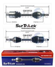 Buick Lucerne 2009-2011 3.9L V6 3800cc FWD Pair of 2 Front CV Axles SurTrack Set