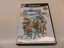 Nintendo game cube final Fantasy: Crystal Chronicles
