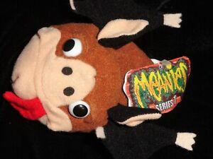 Meanies 'MATT The Fat Bat' Series 1 1997 Bean Bag Plush Toy Halloween