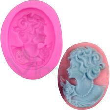 Stampo silicone Cameo spilla decorazione torta dolci pasta zucchero Cake Design