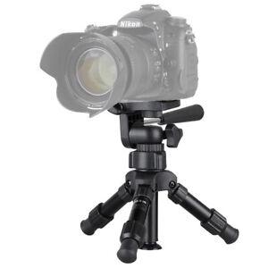 Professional Mini DSLR Camera Tripod Table Stand For Live Streaming Canon Nikon