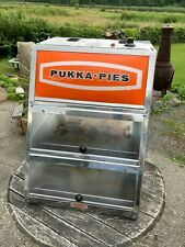 More details for used pukka pies pie hot warm warming heated display cabinet counter top work
