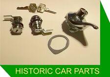 MGB Roadster & MGBGT 1972-80 - New Lock Set & Keys for Doors & Boot