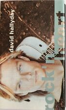 K7-TAPE-CASSETTE- DAVID HALLYDAY ROCK'N'HEART - 846 963-4