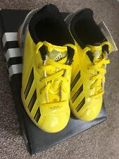Adidas F5 Junior Interior Fútbol Zapatillas Size UK 10K niños 10 en caja Zapatos