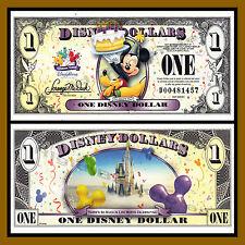 "Disney 1 Dollar, 2009 Series ""D"" Mickey Celebrate Uncirculated"