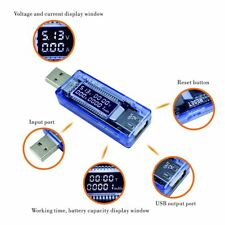 PC USB Port Volt Current Voltage Output Charger Capacity Tester Meter Power