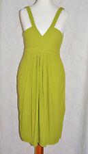 Zara taglia XS verde Sun Vestito beautiul Floaty Crociera Festa Casual * in buonissima condizione pulita