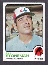 1973 TOPPS #254  Bill Stoneman  MONTREAL EXPOS  EX-MINT  A
