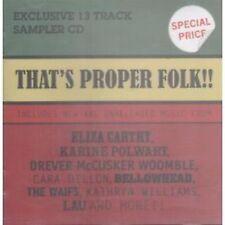 Folk Compilation Music CDs