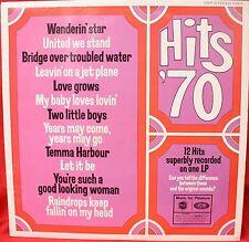 HITS 70 Feb 1970 LP Record MFP1383 Soundalike Covers.