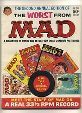 WORST FROM MAD #2 (VG) Mad annual; 1959; E.C. Comics; Humor; Magazine (c#07273)