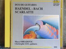 MAYA OBRADOVIC+CHRISTOPHER LEU-Duo de Guitares-1991 CD