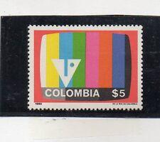 Colombia Televisión Color serie del año 1980 (CK-301)