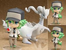 New Japan Anime Nendoroid 537 Pokemon Center N and Reshiram Figure Figurine 10cm