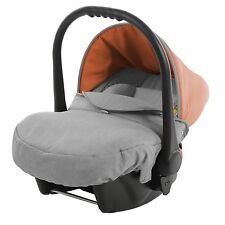 Knorr Baby Autositz Voletto Babyschale Gr. 0+, 0-13 kg grau-orange NEU