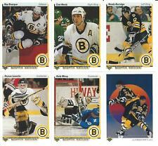 1990-91 Upper Deck Boston Bruins Team Set