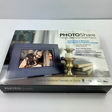 "Simply Smart  Home PhotoShare 8"" Smart Photo Frame w HD 1080P LED Touchscreen !!"