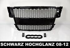 Für Audi A5 8T RS5 DTM Look Grill Wabengrill Stoßstange Gitter Blende S5 #23