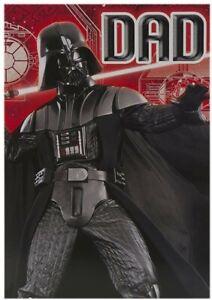 Hallmark Star Wars Darth Vader Dad Birthday Card