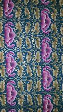 Lavender Poppy Quilt Fabric - 1 Yard