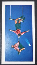 Double Trapeze Circus Act  Original Vintage Card # CAT A