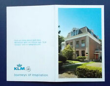 Picture / Information CARD re KLM 91 Delft House. (NB: No KLM house is included)
