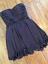 NWT Strapless Chiffon Pageant Formal Mini Party Prom Gown Bridesmaid Dress 14