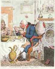 Temperance 1792 Vintage Photo Print A4 Cartoon Joke 001