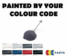 NEW VW GOLF V 05-08 REAR BUMPER TOW HOOK COVER CAP PAINTED BY YOUR COLOUR CODE