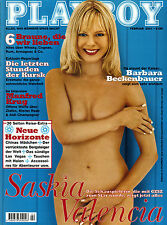 Playboy 02/2001    SASKIA VALENCIA    Februar/2001