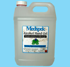 Alcohol hand gel anti-bacterial 5 L FREE pump Animal contact, hospitals, etc