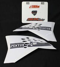 WHITE PENTON KTM RADIATOR SHROUDS TANK SPOILER 7730805000030A 7730805100030A