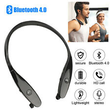 Wireless Headphone Earbuds Sport Neckband Bluetooth Headset HD Stereo Sweatproof