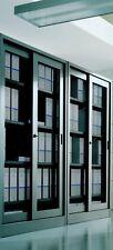 Armadio archivio da ufficio in metallo mis.180x45x200 ante rete scorrevoli