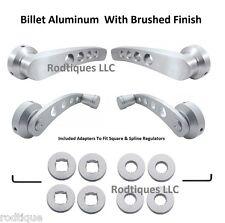 I H / Reo Truck Door & Window Handles  Brushed Billet Aluminum Cranks Risers